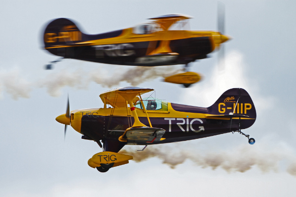 Trigg Pitts Duo Display Team